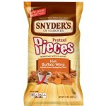 Large Snyder's Hot Buffalo Wing Pretzel Pieces - 340g